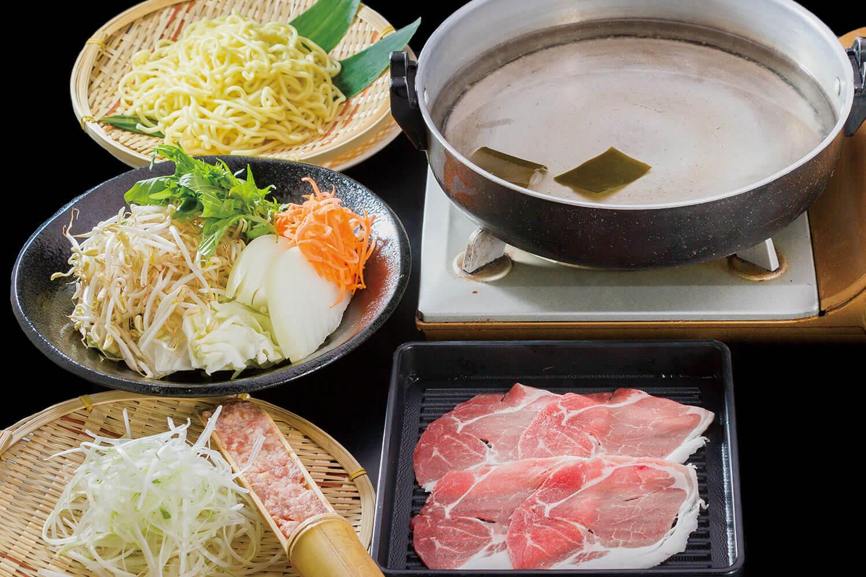 芋豚鍋食べ放題コース
